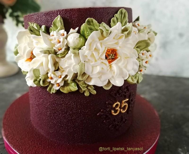 Торт женщине на 35 лет