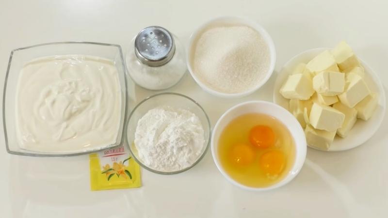 Заварной крем со сметаной - рецепт крема для торта Наполеон