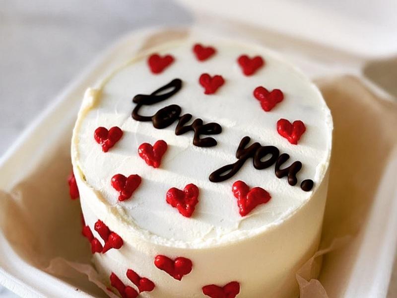 Бенто торт для влюбленных