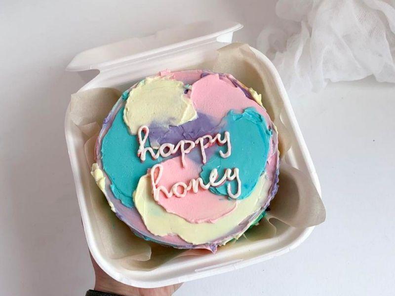 Бенто торт фото с надписью милой