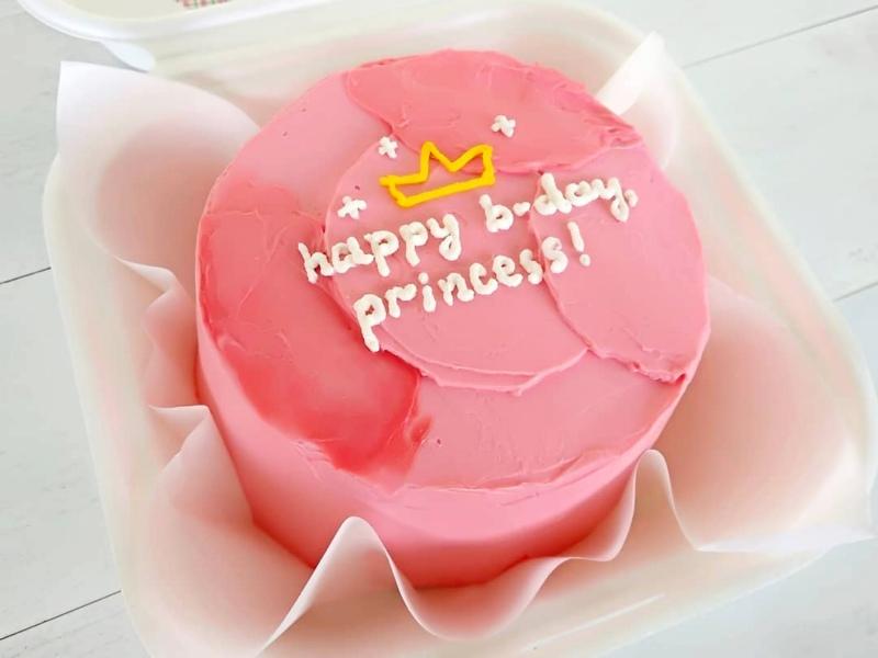 Бенто торт на день рождение для принцессы