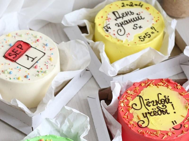 бенто торт на 1 сентября