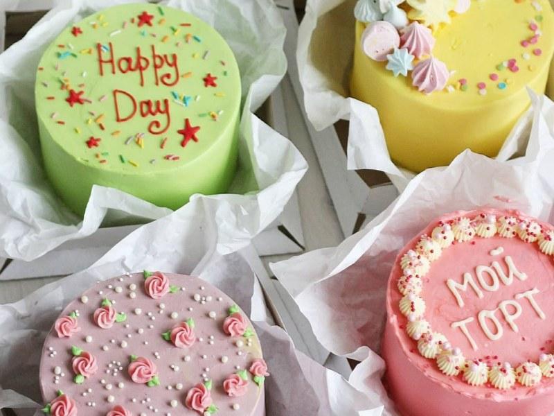 Бенто торт дизайн примеры