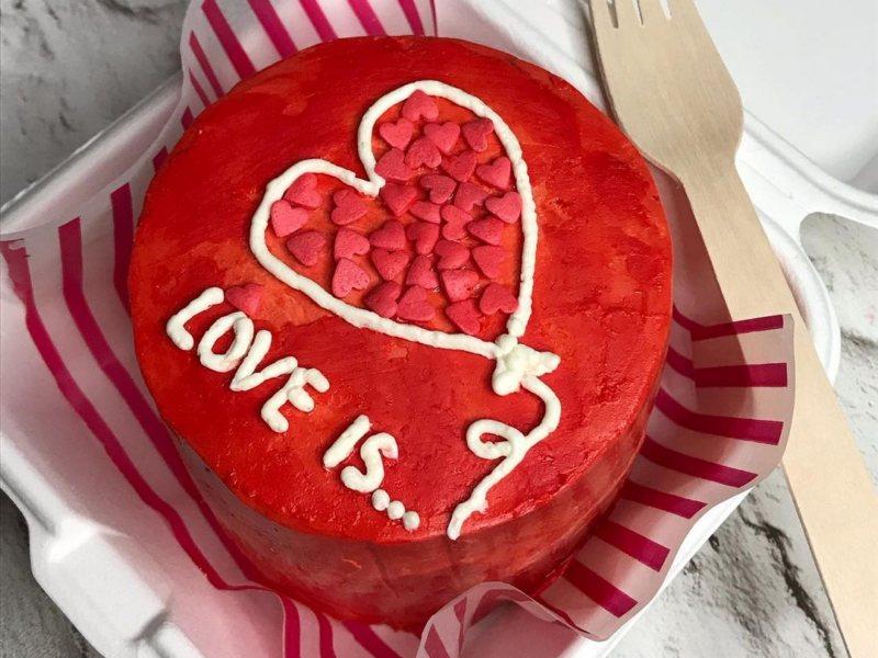 Love is Бенто торт картинки