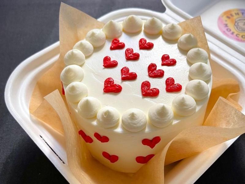 Торт бенто любовь