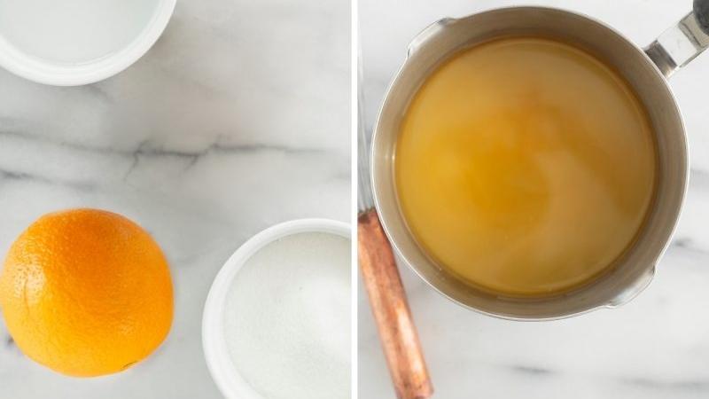 Апельсиновая пропитка для бисквита