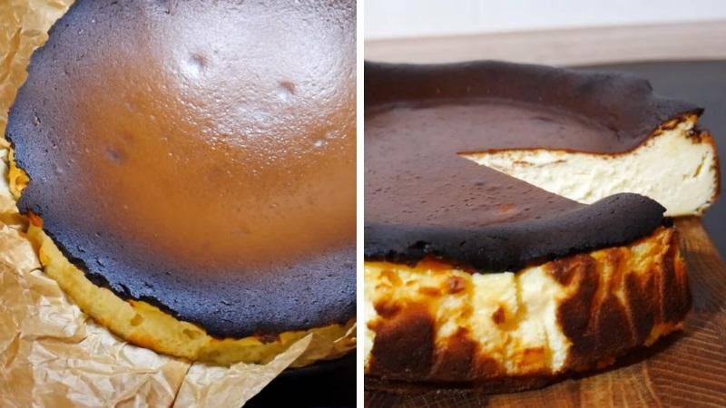 баскский чизкейк рецепт
