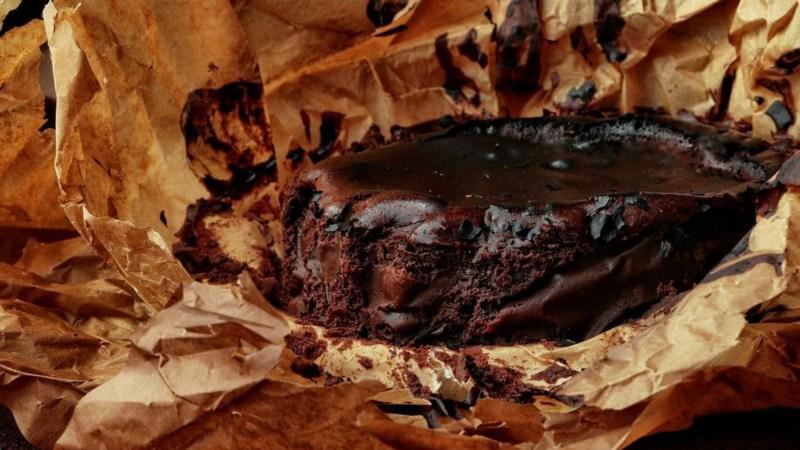 Шоколадный Баскский чизкейк рецепт