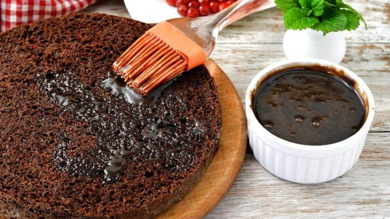 Пропитка для шоколадного бисквитного торта