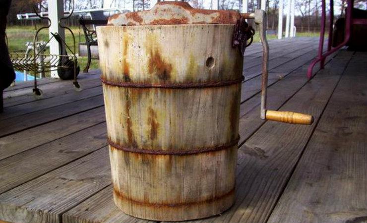 Ручная мороженица придуманная в 1843 году