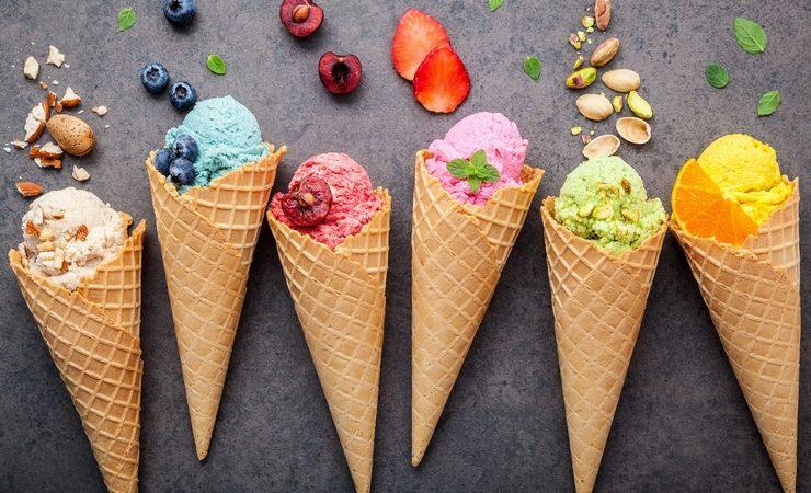 Кто и когда придумал мороженое